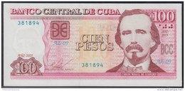 Cuba 2015 $100 Pesos Banknotes UNC - Cuba