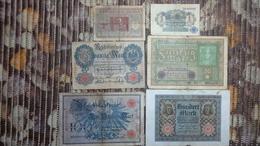 Lot Geldscheine Deutsches Reich - Collezioni