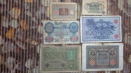 Lot Geldscheine Deutsches Reich - Verzamelingen