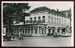 1545 - NETHERLANS Hilversum 1950s Hotel Jans. Stationsstraat. Real Photo Postcard - Hilversum