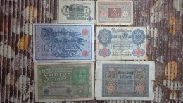 Lot Geldscheine Deutsches Reich - [ 2] 1871-1918 : Duitse Rijk