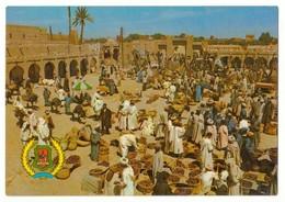CP Maroc Rissani Marché Des Dattes. Très Forte Animation. - Meknès
