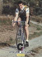 PASCAL JULES CYCLES GITANE + PALMARES AU DOS CPM    TTBE Etat - Cyclisme