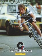 GREG GREGORY LEMOND CYCLES GITANE + PALMARES AU DOS CPM    TTBE Etat - Cyclisme