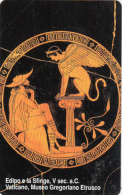 VATICAN - Oedipus And Sphinx(127), Tirage 6000, Exp.date 01/01/07, Mint - Vatican