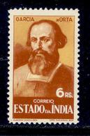 ! ! Portuguese India - 1946 Historic Motifs 6r - Af. 378 - MNH - Inde Portugaise