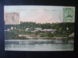 PARAGUAY - POSTCARD FROM THE LAKE HOTEL IN SAN BERNARDINO IN THE STATE - Paraguay