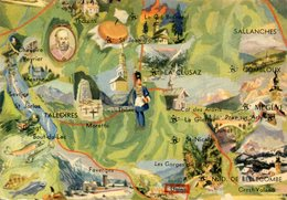 HAUTE SAVOIE - Maps