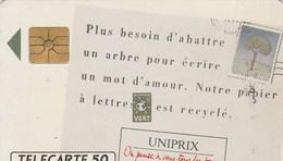TELECARTE 50...UNIPRIX - France