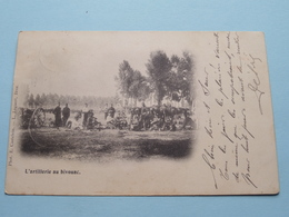 L'artillerie Au Bivouac ( E. Castelein - L. Lagaert ) Stamp Anno 1901 > Brasschaet Polygone ( Details Zie Foto ) ! - Manoeuvres