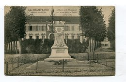 CPA  51  :  MESNIL SUR OGER  Monument      A  VOIR  !!!!!!! - Other Municipalities