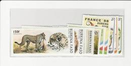 Lot New Stamps Burkina Faso - Burkina Faso (1984-...)