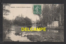 DD / 21 CÔTE D' OR / BEAUNE / UN COIN DU PARC DE LA BOUZAIZE / CIRCULÉE EN 1908 - Beaune