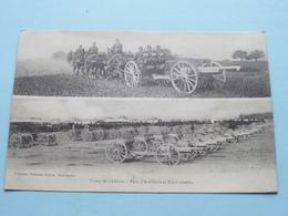 Camp De Châlons - Parc D'Artillerie Et Pièce Attlée ( Guérin ) Anno 1919 ( Details Zie Foto ) ! - Châlons-sur-Marne