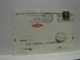 PADOVA  --  SOCIETA'   ACC. INDUSTRIA CATRAME AFFINI - Padova (Padua)