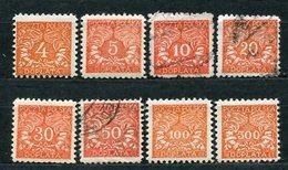 Polen Porto Nr.23/30         O  Used + *  Unused                (1596) - Postage Due