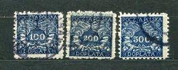 Polen Porto Ex.Nr.17/21 Y         O  Used                (1595) - Postage Due