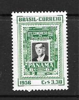 BRESIL 1956 Congrès Panaméricain De Panama  YVERT N°623  NEUF MNH** - Brazil