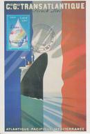 Carte  FRANCE  Exposition  PAQUEBOTS  DE  REVE   Musée  De  La  Poste   PARIS   2002 - Barche