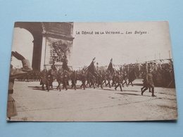 Le Défilé De La Victoire - Les Belges () Anno 19?? ( Details Zie Foto ) ! - Guerres - Autres