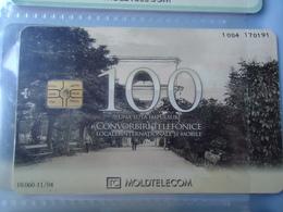 MOLDOVA USED CARDS  MONUMENTS TIR  10060 - Moldova