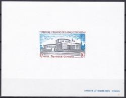 Afars Issas Sc380 Government Buildings, Treasury, Deluxe Proof, Epreuve - Architecture