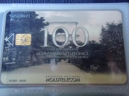 MOLDOVA USED CARDS  MONUMENTS TIR  15063 - Moldova