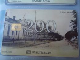 MOLDOVA USED CARDS  MONUMENTS TIR  10.000 - Moldova