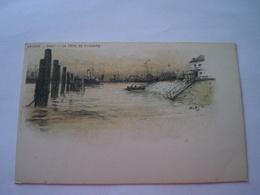 Antwerpen - Anvers // Litho // Port - La Tete De Flandre // Ca 1899 - Antwerpen