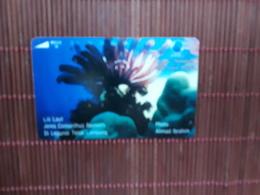 Phonecard Indonesia Sea Life Used - Indonesia