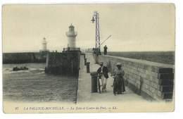 CPA 17 LA PALLICE-ROCHELLE LA JETEE ET CENTRE DU PORT - La Rochelle