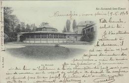 Cp , 59 , SAINT-AMAND-les-EAUX , La Rotonde - Saint Amand Les Eaux