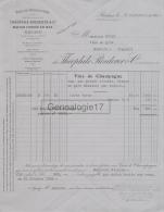 51 825 REIMS MARNE 1929 Vins De Champagne THEOPHILE ROEDERER Rue Jacquart à Mr BUCHE De MASSIAC - Agriculture