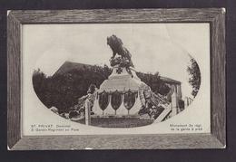 CPA 57 - ST. PRIVAT Denkmal - Monument 3 ème Régt. De La Garde à Pied + Libellé En Allemand TB PHOTO En Médaillon - Otros Municipios