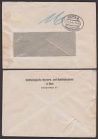 GERA 4, Barfrankatur 23.8.45 Mit 16 Pf Gebühr Ausgewiesen Abs. Industrie- U. Handelskammer Ortsdoppelbrief - Sowjetische Zone (SBZ)