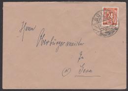 GOTHA Vereinigung SPD Und KPD Reichen Sich Die Hände 1946 SoSt.  Logo Der SED - Zona AAS