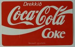 ICELAND - Simakort - SC4 Chip - 150 Units - Glossy Finish - Coca Cola - Mint - Iceland