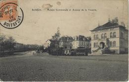 Boitsfort.  -   Maison Communale Et Avenue De La Vénerie   -   1914   -   TRAM - Avenues, Boulevards