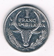 1 FRANC 2002 MADAGASKAR/3717G/ - Madagascar