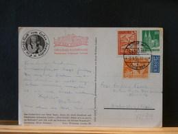 77/939  CP  TIMBRES ALL. SUISSE AUTRICHE OBL.LINDAU  1951 - Brieven En Documenten
