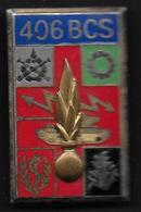 406e BCS - Insigne émaillé Arthus Bertrand 2283 - Armée De Terre