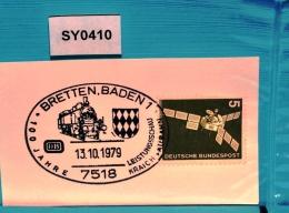 SY0410 100 Jahre Kraichgaubahn, Eisenbahn, 7518 Bretten DE 13.10.1979 - [7] République Fédérale