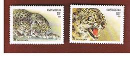 KYRGYZSTAN  - SG 5.11 -   1994 ANIMALS: SNOW LEOPARD -   MINT (**) - Kirghizstan