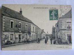 CPA (49) Maine Et Loire - Saint Léger Des Bois - Le Bourg - France