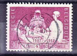 BELGIQUE COB 1038 OBL CENTRALE LIEGE. (7B391) - Used Stamps