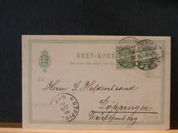 77/972  CP  DANMARK 1901 - Postal Stationery