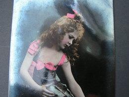 Schönes Mädchen Motiv, Mädchen, Portrait, Fillet, Girl, Child  Oranotypie - Abbildungen