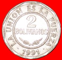 # SUN: BOLIVIA ★ 2 BOLIVIANOS 1991! LOW START ★ NO RESERVE! - Bolivia