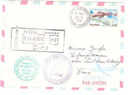 Ariane 1980 Tampons CNES Direction Des Lanceurs ESA - FDC