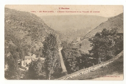 09 Le Mas D'Azil, Usine électrique Et Vallée De L'arize (4189) - France